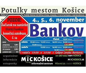 06707a3193eb Potulky mestom Košice - BANKOV história - Katalóg firiem